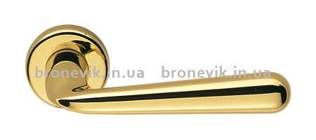 Дверная ручка Colombo Design Robodue CD 51 полированная латунь 50мм розетка