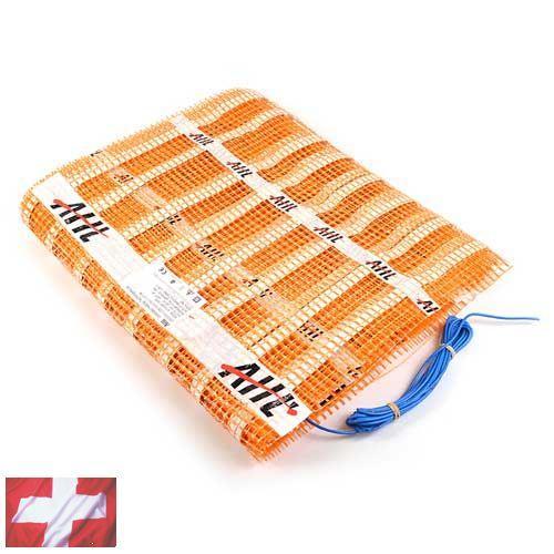 Теплый пол AHT (нагревательный мат 5,0 м Х 0,5 м (2,5 кв. м) ~150Вт/м²)