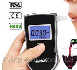 Профессиональный алкотестер Greenwon АТ-818 с экраном электрохимический 5 мундштуков в комплекте ОРИГИНАЛ 100%