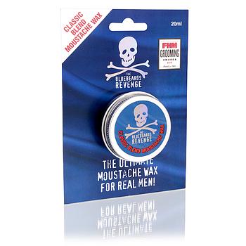 Воск для усов The Bluebeards Revenge Classic Blend Moustache Wax 20 мл.
