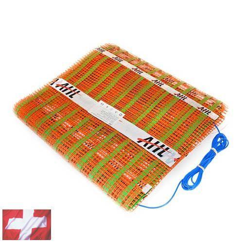 Теплый пол AHT (нагревательный мат 2,0 м Х 1,0 м (2,0 кв. м) ~150Вт/м²)