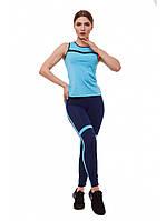 Костюм женский для фитнеса и бега Go Fitness