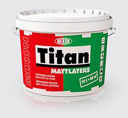 Латексная краска Mixon Titan Mattlatex 2.5л