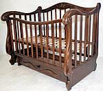 Кроватка Колисани Корона (орех), фото 2