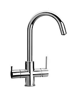 Смеситель для кухни на три воды  1-128 ( Италия)