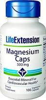 Life Extension Magnesium Caps 500mg 100vcaps