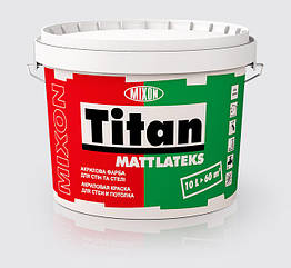 Латексная краска Mixon Titan Mattlatex 5л