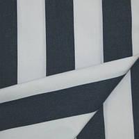Уличная ткань с пропиткой для садовой мебели Дралон полоска белая синяя тефлон, гамак-ткань