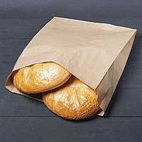 Бумажные пакеты для хлеба  300мм*110мм*400мм