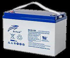 Акумуляторна батарея GEL RITAR DG12-100, 12V 100Ah, Q1