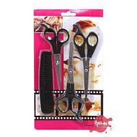 Набор 4в1 ножницы-расческа LB510