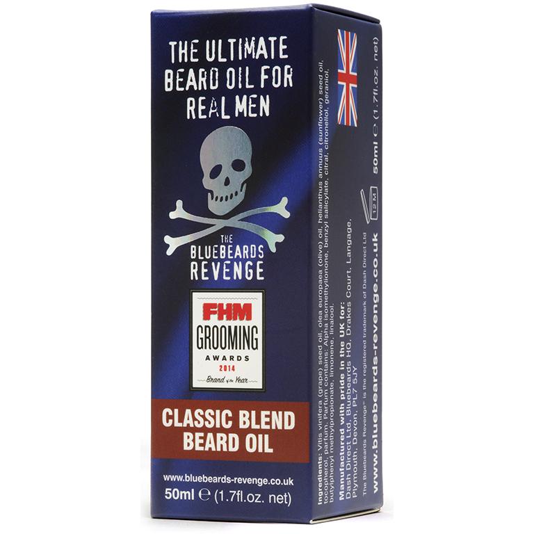 Масло для бороды The Bluebeards Revenge Cuban Blend Beard Oil 50мл