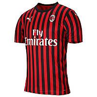 Футбольная форма Милана (домашняя), сезон 19-20. Элитный полиестер