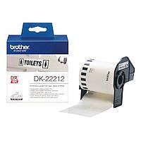Картридж Brother для спеціалізованого принтера QL-1060N / QL-570QL-800 ламін. (62mm x 15.24M)(DK22212)