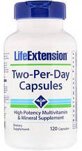 Мультивитаминный комплекс Life Extension Two-Per-Day Capsules 120caps