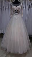 """Свадебное платье """"Инга-1"""" с мини-шлейфом"""
