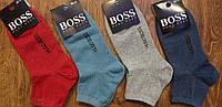 """Жіночі стрейчеві шкарпетки,середні,в стилі""""HUGO BOSS"""",Туреччина 36-41, фото 1"""