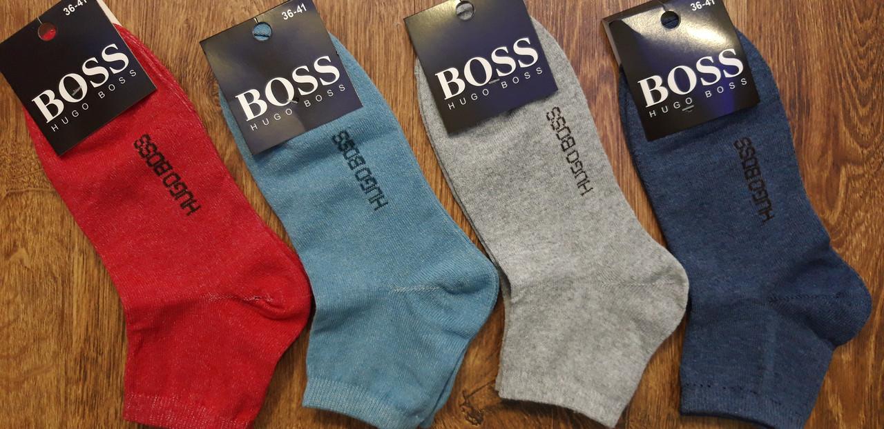"""Жіночі стрейчеві шкарпетки,середні,в стилі""""HUGO BOSS"""",Туреччина 36-41"""