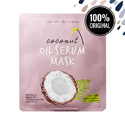 Маска для лица с сывороткой из кокосового масла TOO COOL FOR SCHOOL Coconut Oil Serum Mask