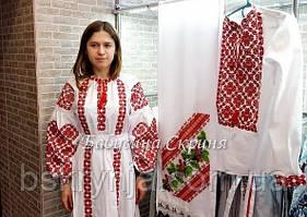 Плаття з вишивкою МВ-152с