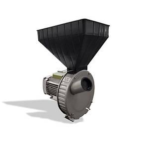 Зернодробилка молотковая ГАЗДА М-71 зерно+початки кукурузы 1,7 кВт медная обмотка двигателя, сделано в Украине