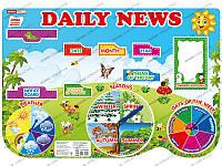 НУШ Плакат. Щоденні новини. Daily news