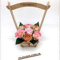 Мыльная корзинка Корзинка з милом, фото 1