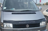Дефлектор капота (мухобойка) Volkswagen t-4 transporter (фольксваген т4 транспортер 1990-2003)