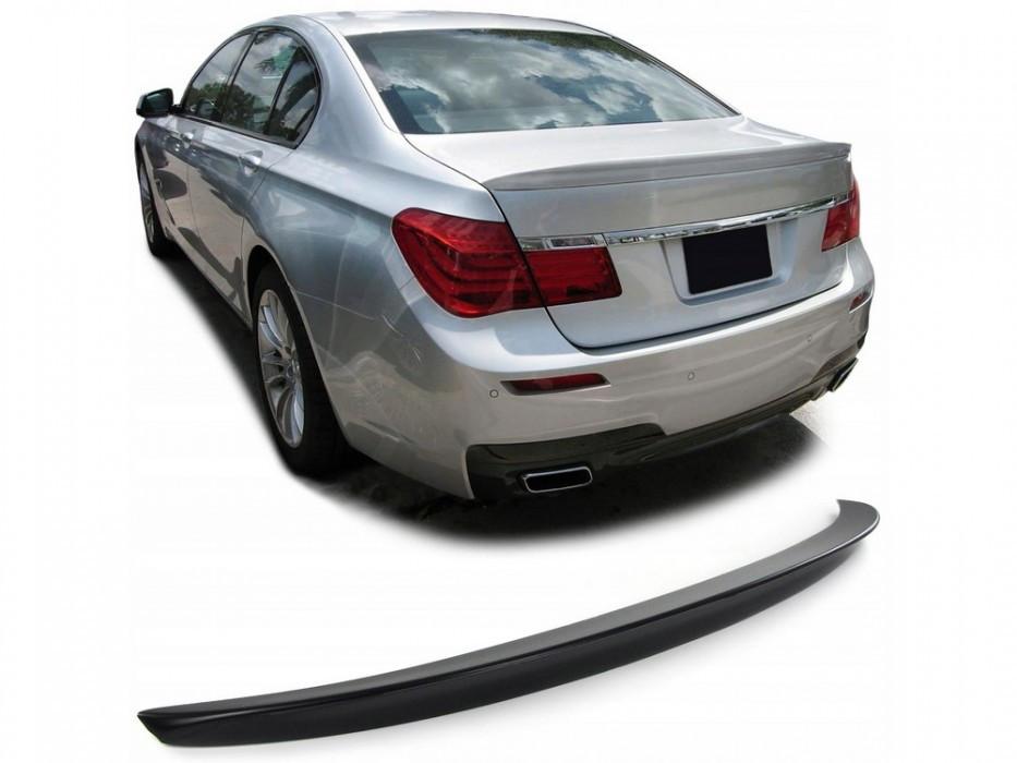 Спойлер сабля на багажник тюнинг BMW 7 F01 (пластик)