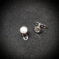 Микродермалы титановые с белым камнем (диаметр камня 4 мм)