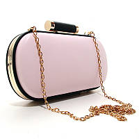 Клатч-бокс сумочка женская розовая 975, фото 1