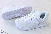 Женские кроссовки, из натуральной кожи сеточка