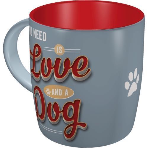 Чашка керамічна Ностальгічне-Art PfotenSchild - Love Dog (43040)