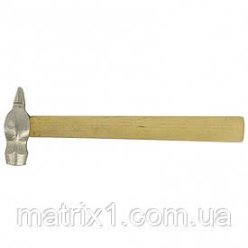 Молоток слесарный, 500 г, круглый боек, деревянная рукоятка Россия