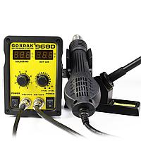 Gordak 968D - паяльная станция с цифровым управлением