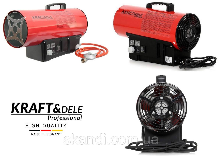 Тепловая пушка газовая с термостатом KRAFT&DELE (Германия) 20квт  ( 320м.куб.час)