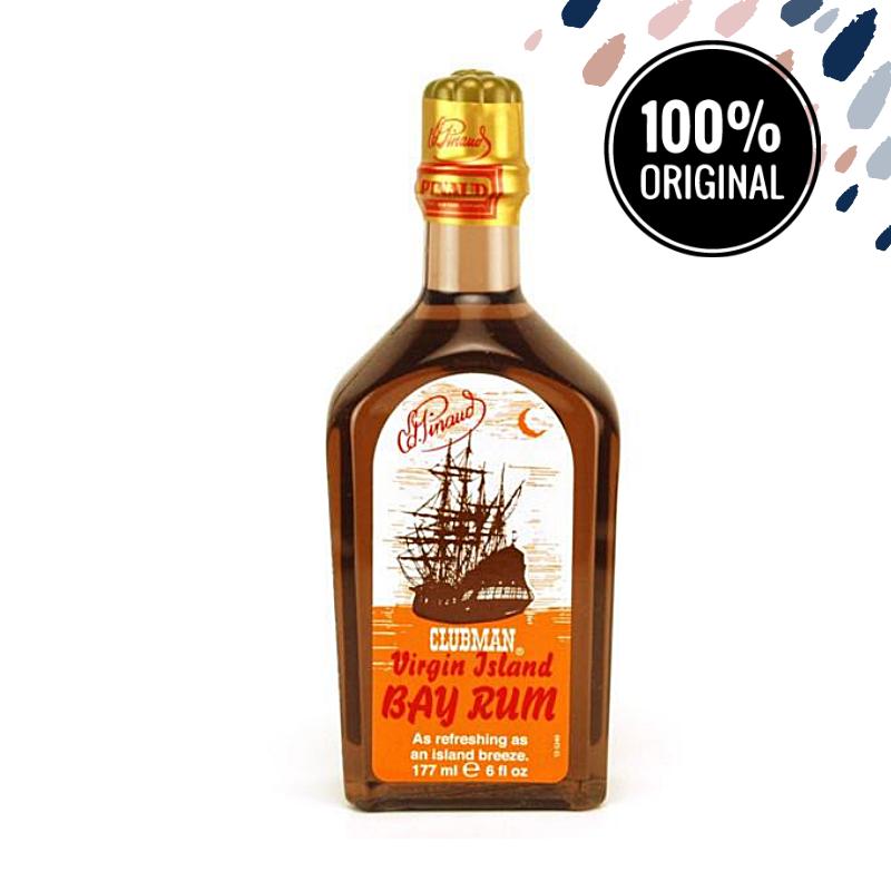 Одеколон після гоління CLUBMAN Virgin Island Bay Rum