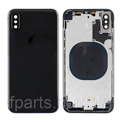 Корпус iPhone X, Space Gray (AAA), фото 2