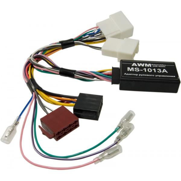 Адаптер кнопок на руле для Mitsubishi Pajero AWM MS-1013A