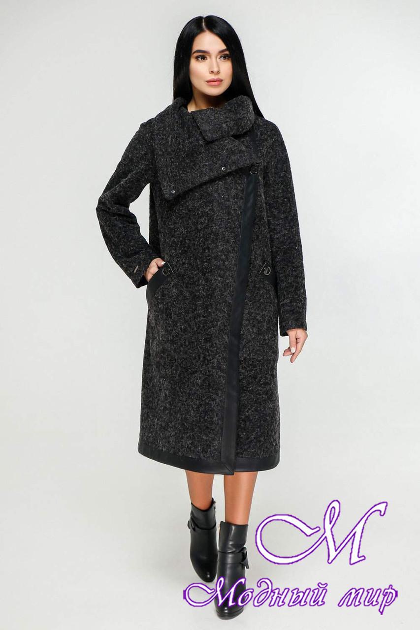 Женское длинное осеннее пальто (р. 44-54) арт. 1184 Тон 260
