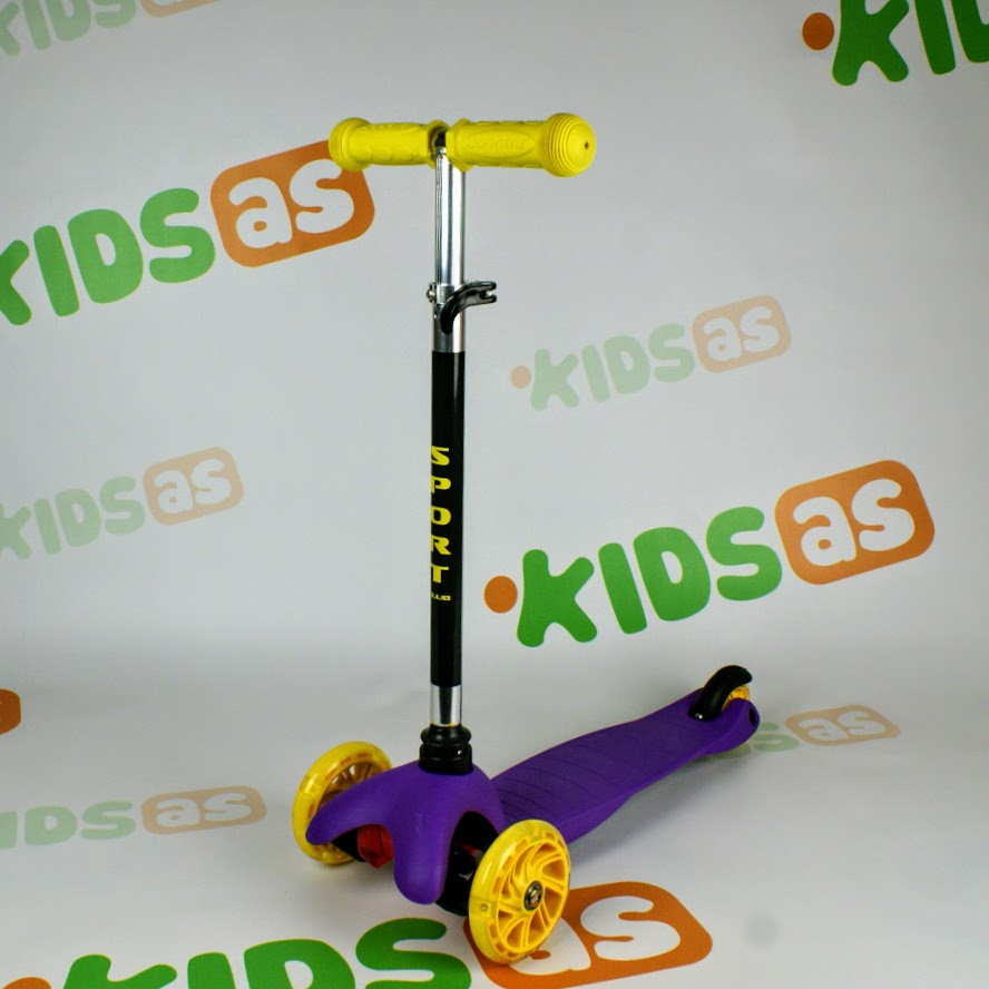 Самокат детский трехколесный Tilly MINI BT-KS-0159 purple Гарантия качества Быстрая доставка