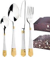 Набор столовых приборов в сундуке на 72 предмета Miller House MH-5992