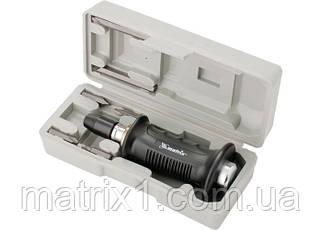 Отвертка ударно-поворотная 1/2, набор бит, 6 шт, черная ручка Профи, пластиковый бокс MTX