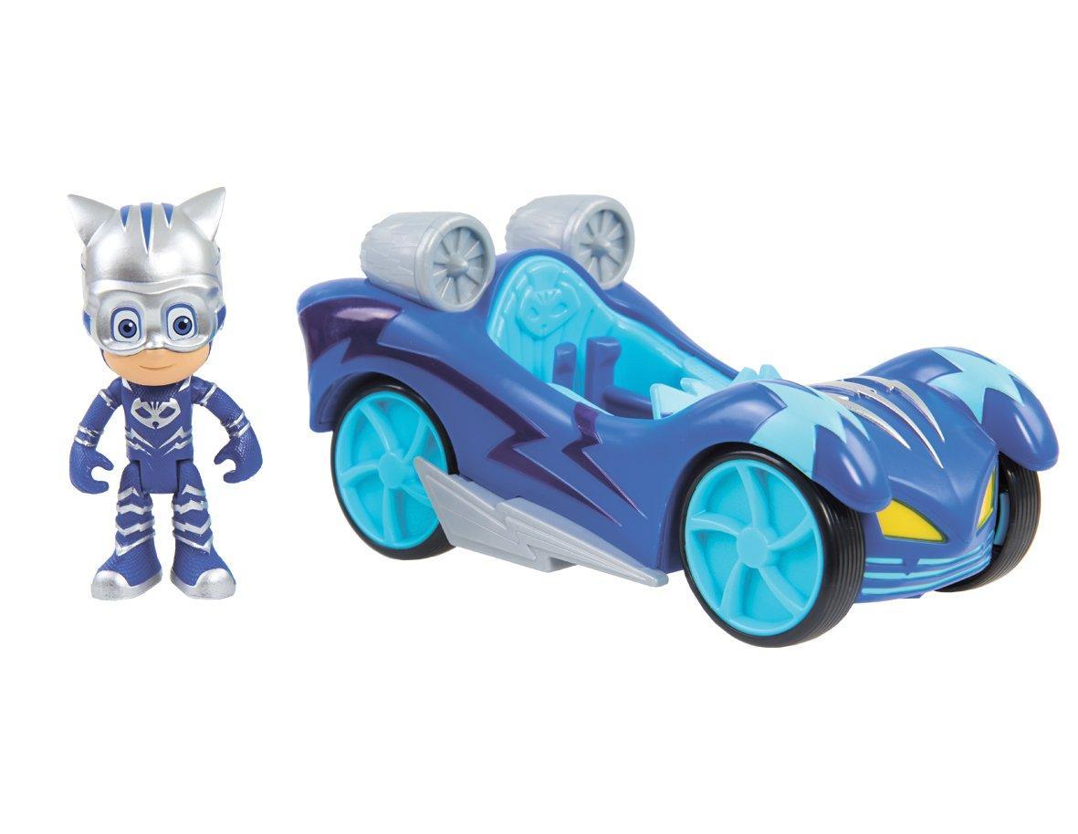 Cупер-авто Кэтбоя, Пи Джи Маски, Турбо Гонщики - Just Play, PJ Masks, Turbo Blast Racers, Cat-Car