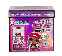 Игровой набор с куклой L.O.L. SURPRISE! - СТИЛЬНЫЙ ИНТЕРЬЕР ЛЕДИ-DJ, фото 1