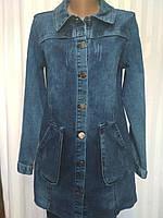 """Кардиган женский джинсовый на пуговицах, размеры 38-46 (+4евро) """"DORA"""" недорого от прямого поставщика"""