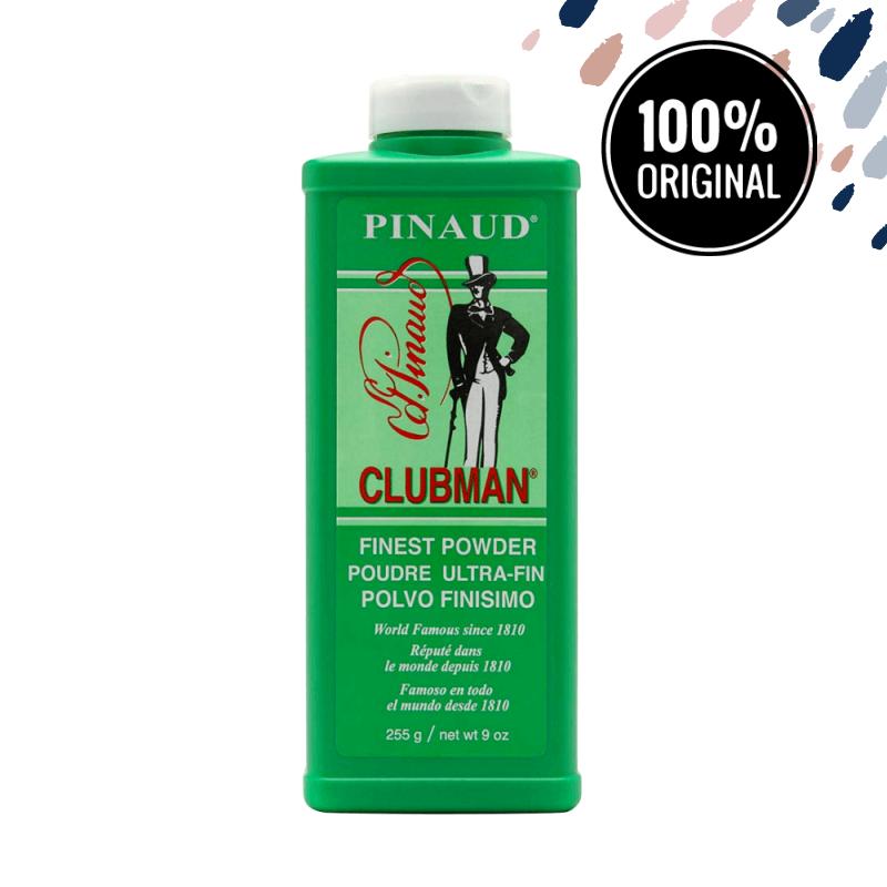 Тальк CLUBMAN Finest Powder White, 255 мл