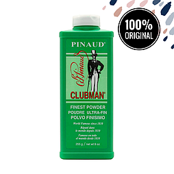 Тальк CLUBMAN Finest White Powder, 255 мл