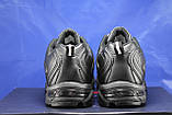 Мужские демисезонные черные кроссовки больших размеров Restime 47,48,49, фото 2