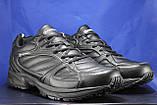 Мужские демисезонные черные кроссовки больших размеров Restime 47,48,49, фото 3